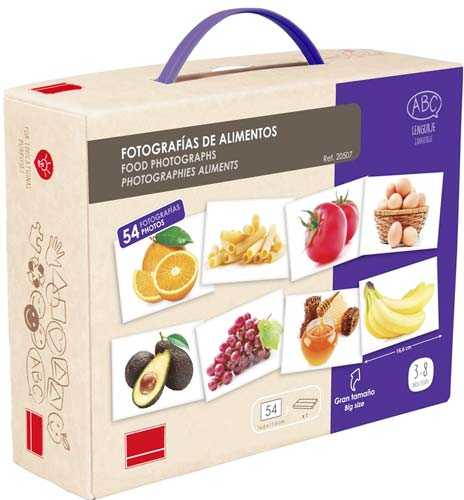 Fotografías Alimentos detalle de la caja