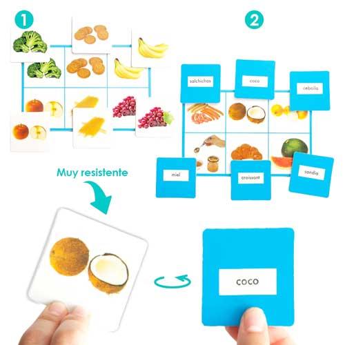 Loto + Palabras: Alimentos detalle