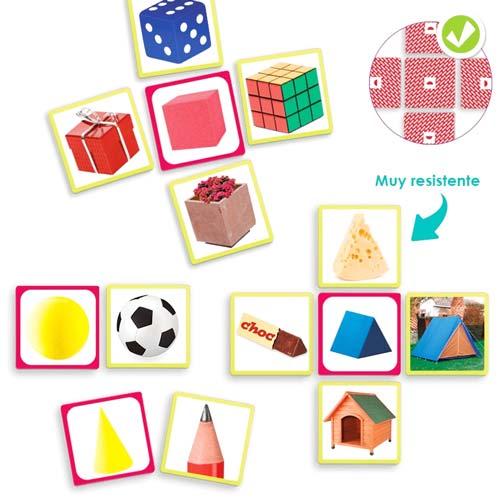 Figuras geométricas en el entorno detalle 2