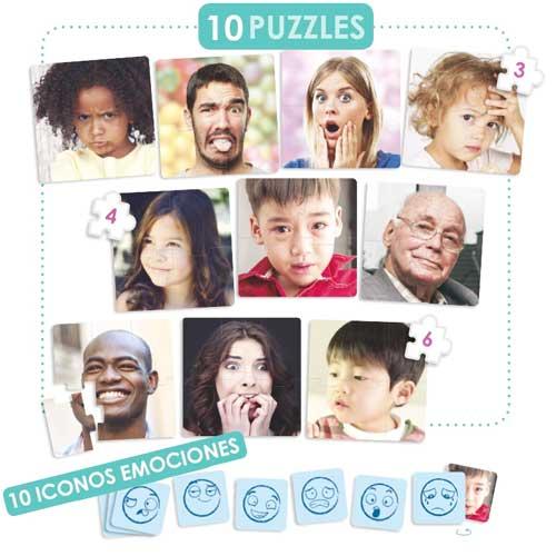 Set puzzles - Las 10 emociones