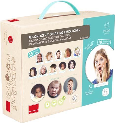Reconocer y guiar las emociones detalle de la caja