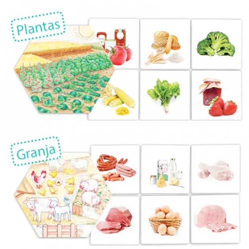 ¿De dónde vienen los alimentos? detalle 4