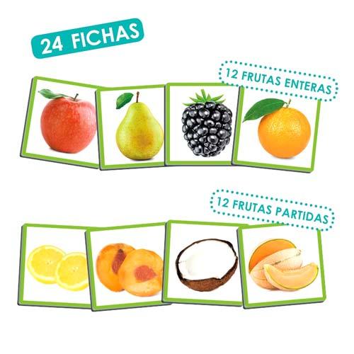 El olfato: las frutas y sus aromas detalle 2