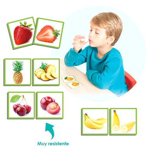 El olfato: las frutas y sus aromas