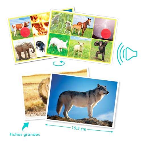Bingo Los animales y la naturaleza detalle