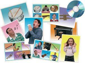 Bingo Acciones e instrumentos musicales