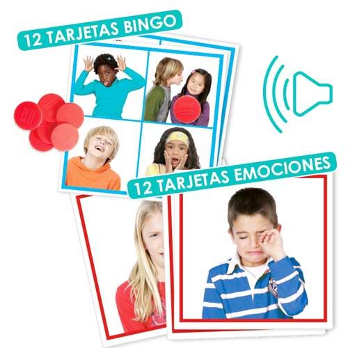Bingo: Sonidos de las emociones