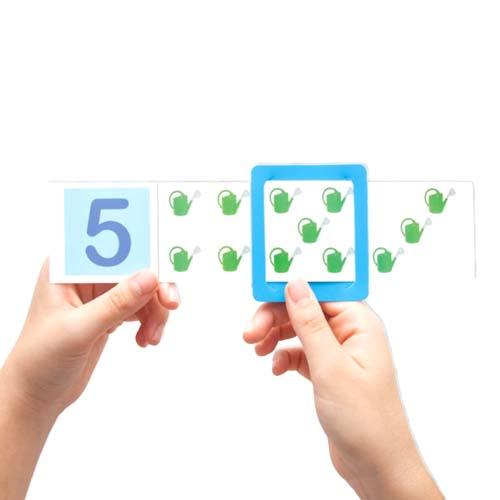 Fichas asociaciones números y cantidades detalle 2