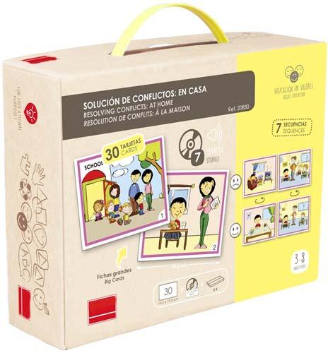 Solución de conflictos: En casa detalle de la caja