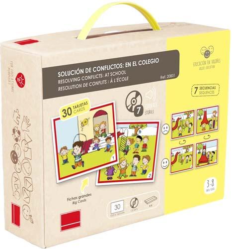 Solución de conflictos: En el colegio detalle de la caja