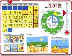 Calendario magnético 70x50 cm