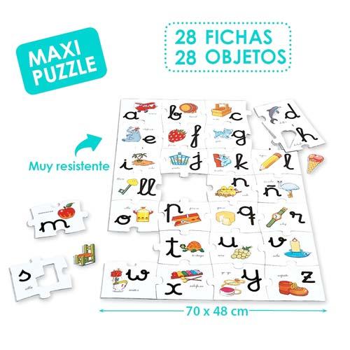 Macro puzzle abacedario