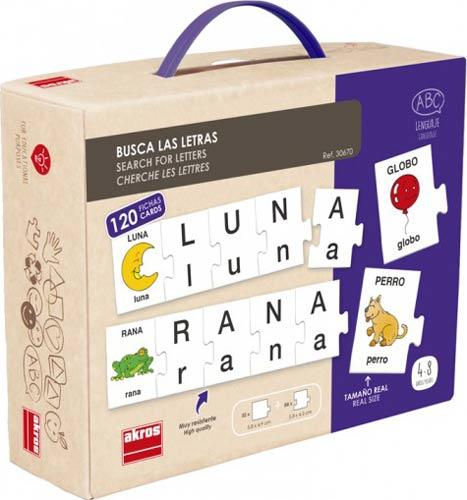 Busca las letras francés detalle 1