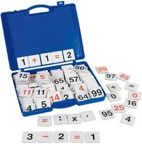 Kit de cálculo, sumar, restar, multiplicar y dividir