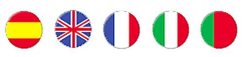 Calendario semana  detalle idiomas