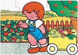 Puzzle Zaro en la huerta