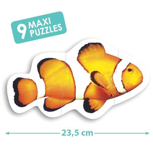 Maxi puzzles animales detalle 1