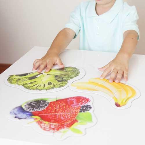 Maxi puzzles alimentos sanos detalle 3