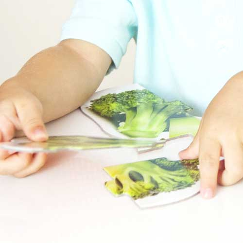 Maxi puzzles alimentos sanos detalle 4
