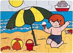 Puzzle Zaro en verano