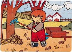 Puzzle Zaro en otoño