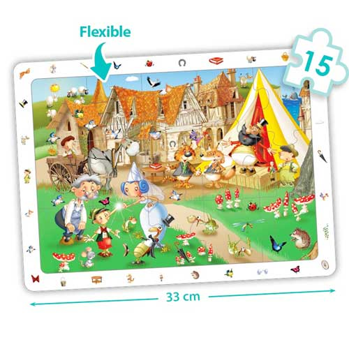 Set puzzles observación - cuentos clásicos detalle 3