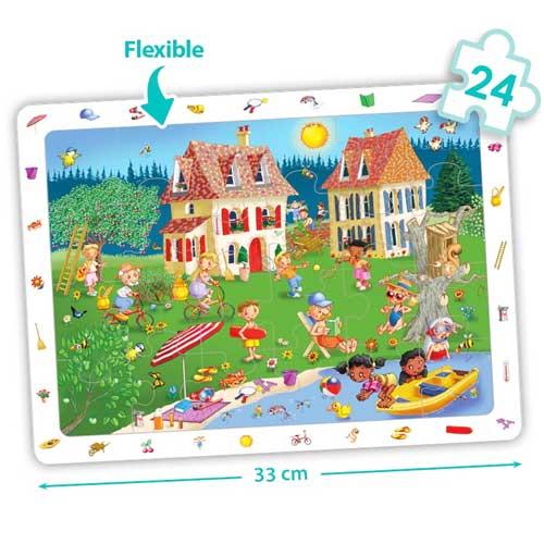 Set puzzles observación - Las 4 estaciones detalle 3