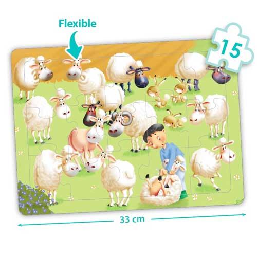 Set puzzles cooperativos - La granja detalle 3