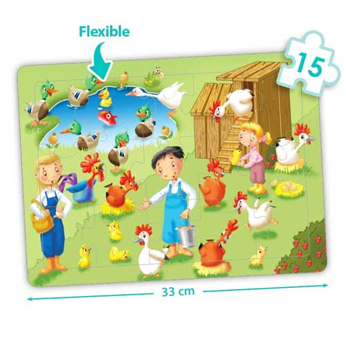 Set puzzles cooperativos - La granja detalle 4