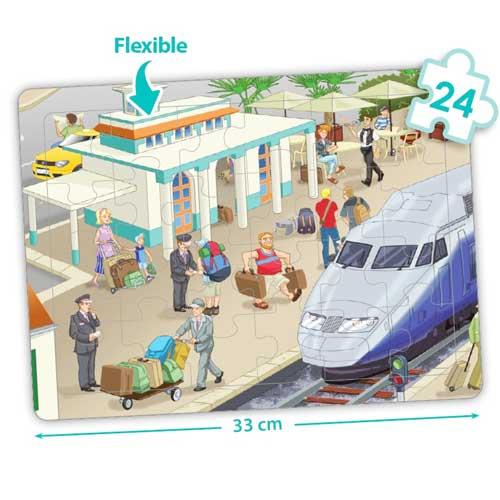 Set puzzles cooperativos - La ciudad detalle 4