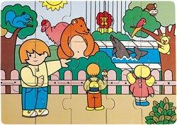 Puzzle Zaro en el zoo