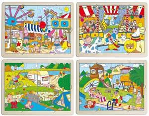Set puzzles tiempo libre