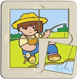 Puzzle Zaro pescando