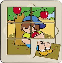 Puzzle Zaro y el manzano