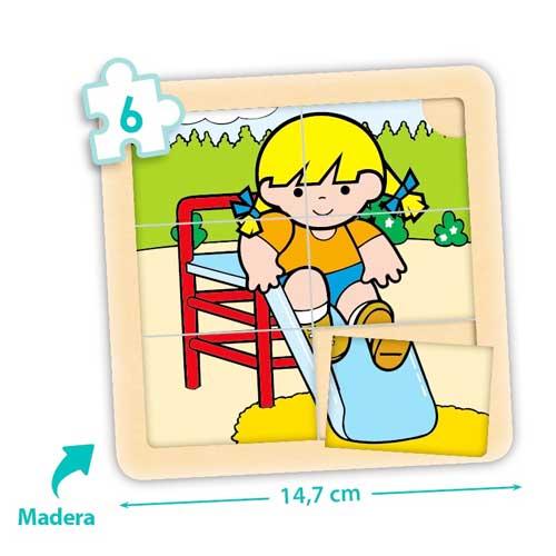 Set puzzles Zaro y Nita 6 piezas detalle 3