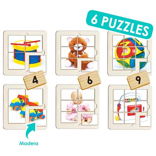 Puzzles Juguetes