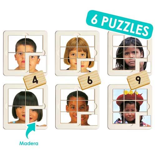 Puzzles Niños del Mundo