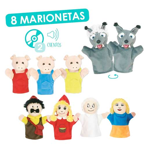 Marionetas clásicas + CD
