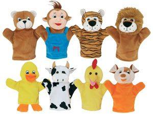 Marionetas animales + CD