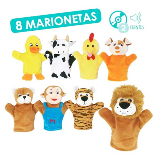 Marionetas animales + CD