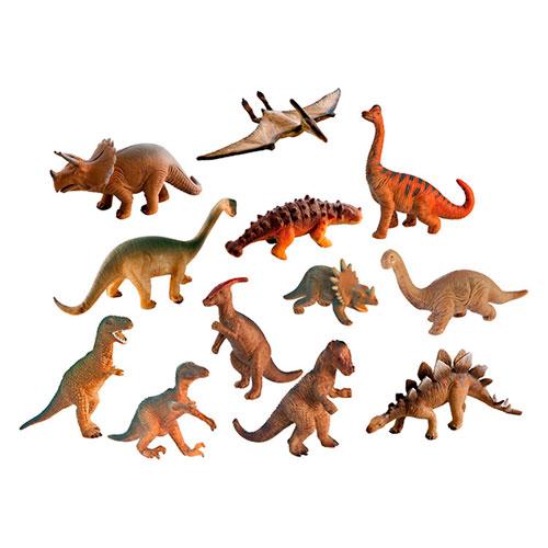 Dinosaurios 12 ud. detalle 2