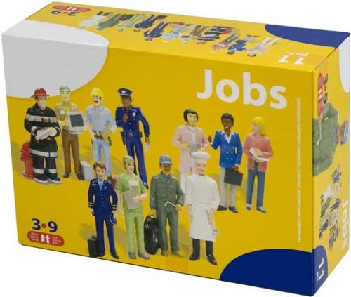 Figuras oficios 11 ud. detalle de la caja