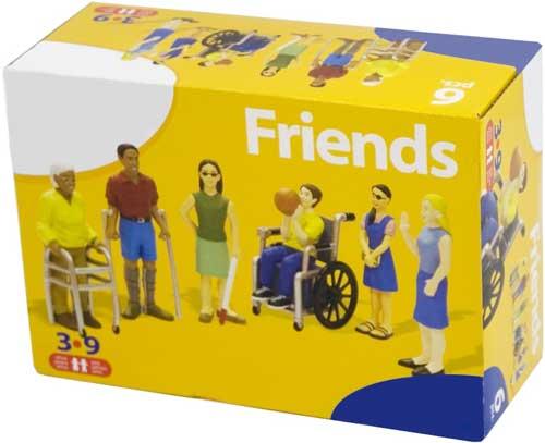 Figuras discapacidades 6 figuras detalle de la caja