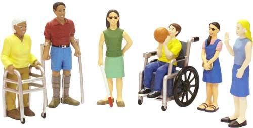 Figuras discapacidades 6 figuras