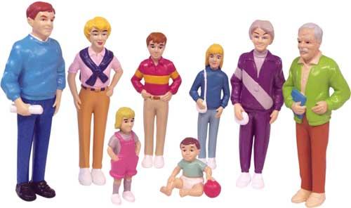 Familia europea 8 figuras