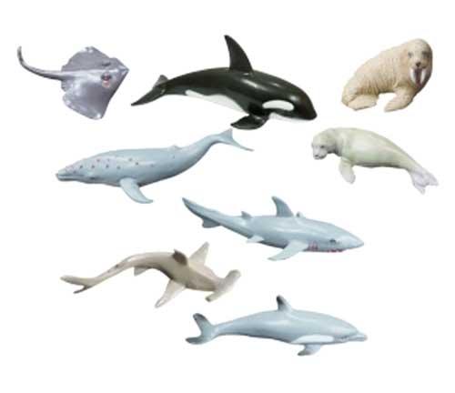 Animales marinos 8 ud. detalle 2