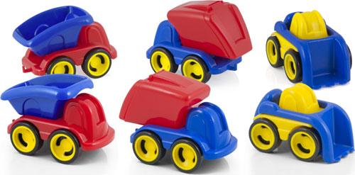 Minimobil Dumpy Contenedor 6 ud.