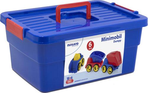 Minimobil Dumpy Contenedor 6 ud. detalle 3