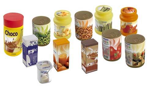 Alimentos envasados 12 pz. detalle 2