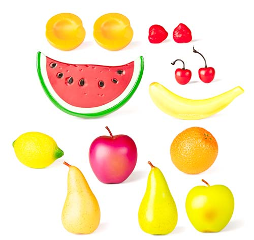 Cestita con frutas 15 ud